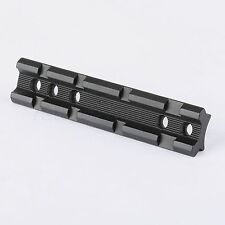 Tactical Dovetail to 20mm Picatinny Weaver Scope Sight Adapter Rail Mount 100mm