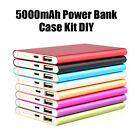 Charming DIY Power Bank Case Kit Cell Box for 5000mah External Battery Charger