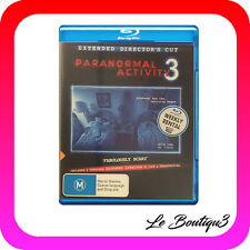 Paranormal Activity 3 (Blu-ray, 2012) EX-RENTAL