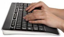 Logitech Wireless Illuminated Keyboard Light UP Office Accessories Laptop VDU Ni