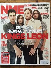 NME 21/8/10 Kings of Leon cover, Hurts, Stornoway, Interpol, Rose Elinor Dougall