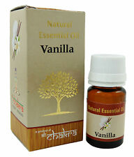 Chakra Vanilla Fragrance Natural Aroma Essential Oil Made in India-10ml