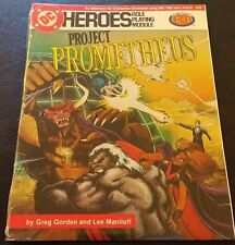 1985 DC Heroes Role Playing Game PROJECT PROMETHEUS MFG 208 Module Sealed SW NEW
