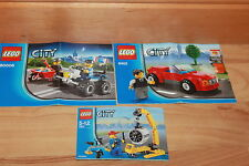 Lego City - Bauanleitung / Instruction für das Lego Set 7901 8402 60006