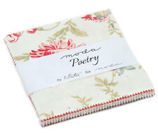 """Moda Charm Pack - Poetry - 42 x 5"""" squares"""
