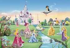 Castillo De La Princesa Mural De Pared Foto Wallpaper Para Niños 368x254cm Disney