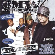 Music to Gang Bang [PA] * by Compton's Most Wanted (CD, Jun-2006, PMC Music...