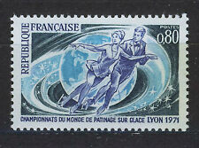 FRANCIA/FRANCE 1971 MNH SC.1299 Figure Skating Champ.