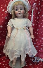 "27"" Stunning Lg Size Antique Bisque Doll.....Kestner #143....BEAUTIFUL!!"