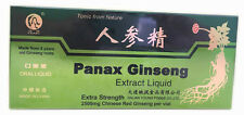 3 Boxes Panax Ginseng Extract Oral Liquid Improves Stamina & Memory 3x10 Vials