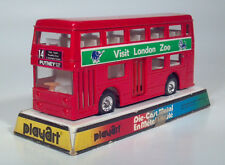 CD Vintage PLAYART Visit London Double Decker Bus Die Cast Scale Model