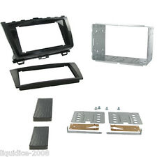 CT23MZ10 MAZDA 6 2011 to 2013 PIANO BLACK DOUBLE DIN FASCIA ADAPTER PANEL