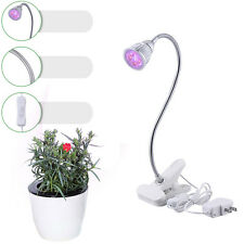 5W LED Plant Grow Light Red Blue Indoor Hydroponic Flower Plants Growing Lamp