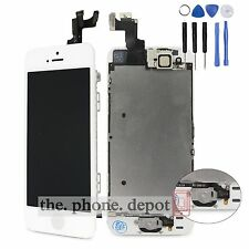For iPhone 5S SE LCD Touch Screen Digitizer Display Home Button Camera Assembly