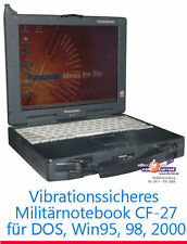 STOSSSICHERES NOTEBOOK PANASONIC TOUGHBOOK CF-27 RS-232 PARALLEL B-WARE ohneAKKU