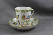 Herend China Queen Victoria Trembleuse Cup & Saucer (s) 713