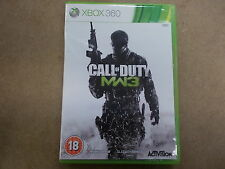 Xbox 360 Pal 2nd Game CALL OF DUTY MODERN WARFARE 3 with Box