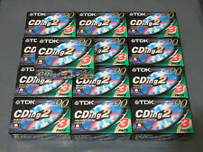 39 x Brand New TDK CDing 2 Type II Chrome 90 Min Blank Audio Cassette Tapes