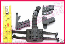 1/6 Scale Hot Toys MMS199 G.I. Joe Roadblock - pistol w/Holster #2