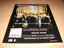 MATCHBOX TWENTY - IN CONCERT!!!!!!!!!!!!! FRENCH ADVERT