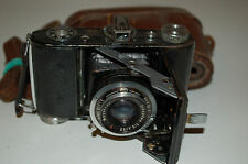 Beltica Camera with Trioplan 2.9 / 50 red V, Meyer Optik Lens. Serviced & Works