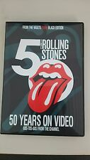 NEW ROLLING STONES 50 Years On Video[ Black Edition ]2DVD Bootleg from Japan F/S