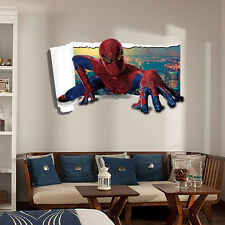 3D Wall Sticker Home Decor Removable Spider-Man Sticker Art Decal For Kids Room
