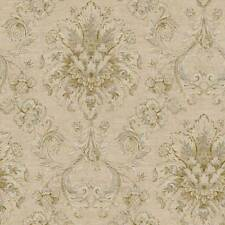 Victorian Damask Wallpaper NK2055 DOUBLE roll FREE shipping
