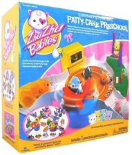 ZHU ZHU Pets Babies BABY PATTY-CAKE PRE SCHOOL Play Set NEW Hamster Powered RARE