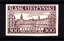 (PL) Poland Silesia Cieszynski local issue proof Fi XII expertised by Wiatrowski