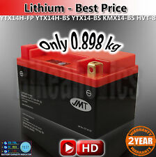 Lithium Ion motorcycle Battery JMT YTX14H-FP save 2kg YTX14H-BS YTX14-BS CTX