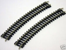 "2 x ST-16 PECO N Gauge Setrack No.3 Radius 11.75"" 22.5 Degree Standard Curve New"