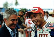 Michael Mick DOOHAN Autograph SIGNED 12x8 Photo AFTAL COA with Valentino ROSSI