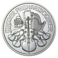 Piece argent 1 once Philharmonique de Vienne 1 oz Philharmoniker 2016