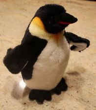 Arctic Emperor Penguin Plush Stuffed Animal Douglas Posable Wings 10""
