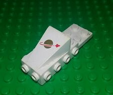 Lego Classic Space 6x2x2 White Slope Gold Moon Chassis Spaceships x 1 piece