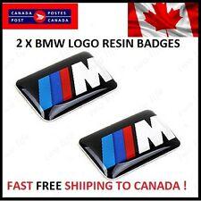 BMW M Badge Logo Sticker Emblem E36 E39 E46 E90 M3 M5 M6 M Package Sport 3M
