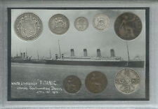 The Sinking of RMS Titanic White Star Line Full Antique Coin Year Gift Set 1912