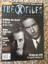 THE X-FILES OFFICIAL MAGAZINE PREMIER ISSUE SPRING 1997 GOOD SHAPE QUICK SHIP!
