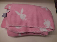 Pink PLAYBOY BUNNY Blanket/Throw
