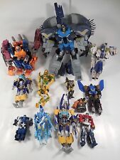 HUGE LOT OF TRANSFORMERS MODERN AGE ACTION FIGURE ROBOTS BEAST WARS STAR WARS