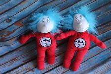 Dr. Seuss Thing 1 & 2 Cat in the Hat Plush Stuffed Animal Dolls Toy Set KOHL'S