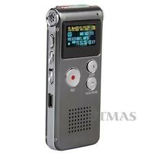 8GB Digital SPY Voice Recorder 8G Dictaphone MP3 Player USB WAV with Microphone