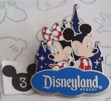 Mickey and Minnie Mouse Disneyland Resort Walt Disney Travel Co Castle 2016 Pin