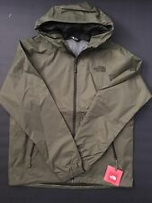 Mens The North Face Dryvent Boreal Hooded Jacket Medium TNF Burnt Olive Green