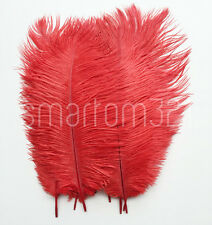 10''-12'' Long Ostrich Feathers Wedding Decoration Costume Party Craft Mask Hat