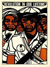 ADVERT CIVIL RIGHTS BLACK PANTHER PARTY AFRICAN ART POSTER PRINT LV6965