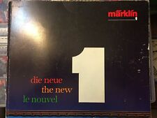 Catalogue MARKLIN 1 - 1987/1989 --114 pages