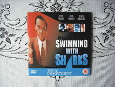 RARE INDEPENDANT PROMO DVD - SWIMMING WITH SHARKS -KEVIN SPACEY