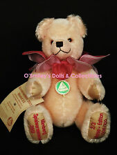 Ultra Rare HERMANN TEDDY BEAR Spielwarenmesse 2003 Nurnberg GERMANY LIMITED 100